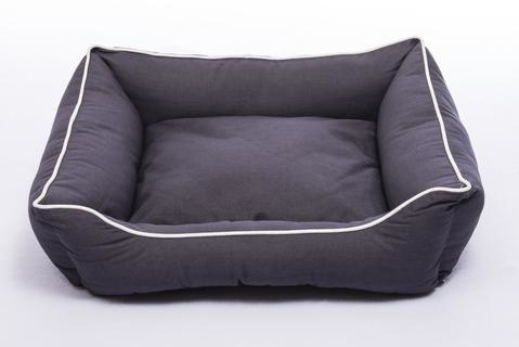 Dog Gone Smart Dog Gone Smart Pebble Gray Lounger Bed