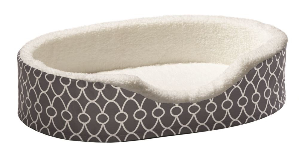 Midwest Midwest Quiettime Gray Orthopedic Nest Bed