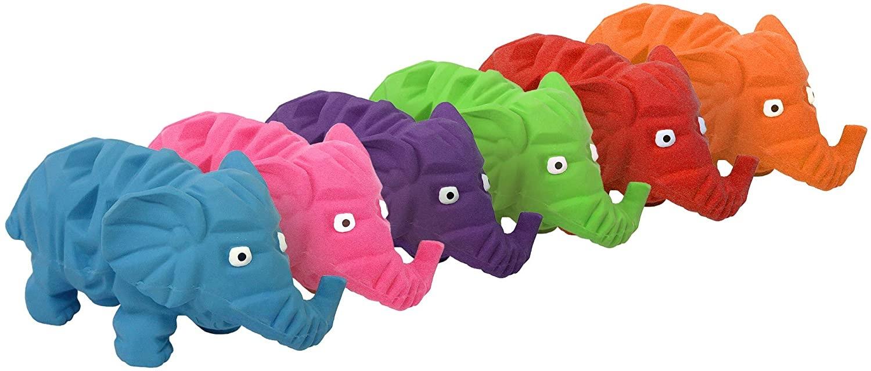 "Multipet Multipet Origami Latex Elephant 8"""
