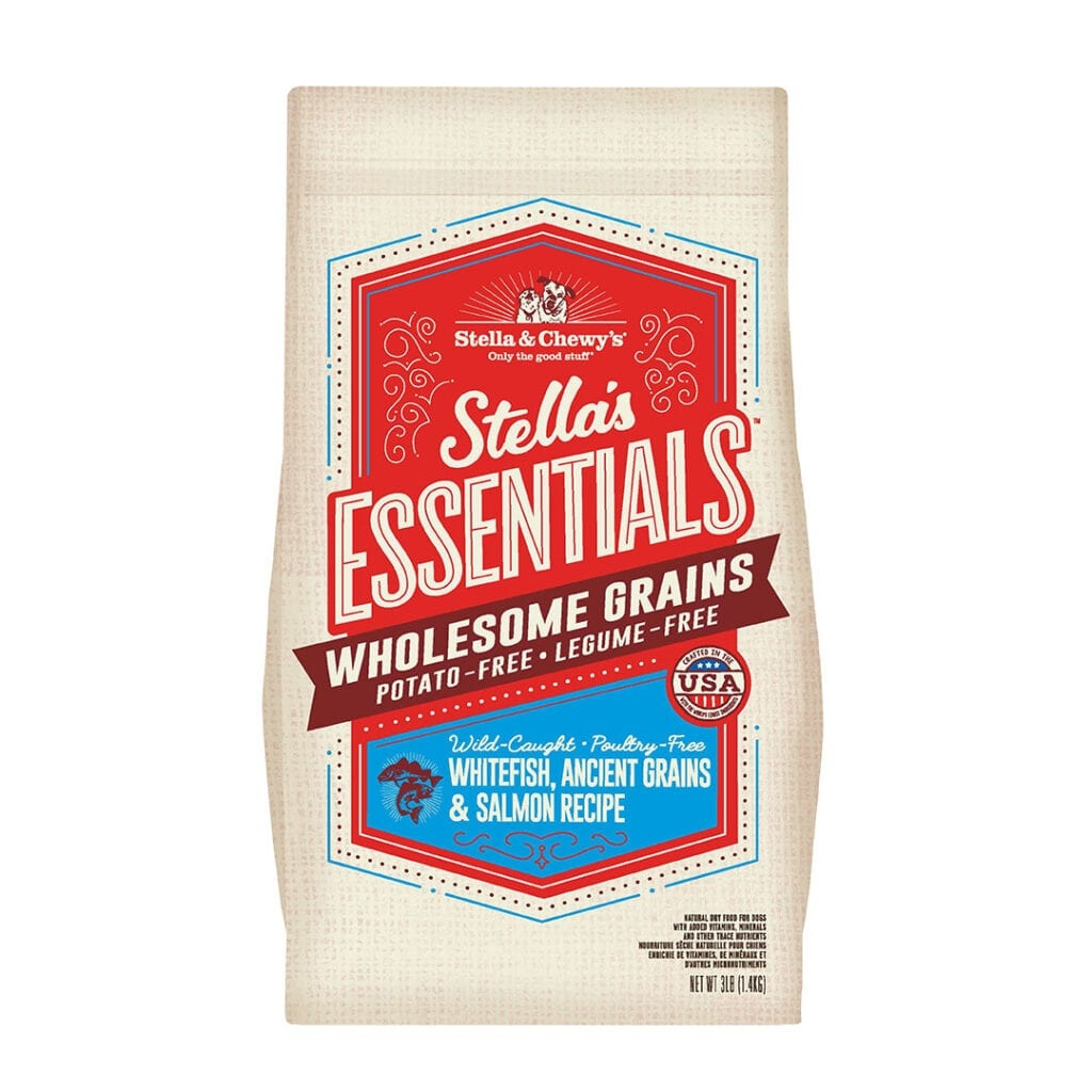 Stella & Chewys Stella & Chewys Stella's Essentials Wild-Caught Whitefish, Ancient Grains & Salmon Recipe