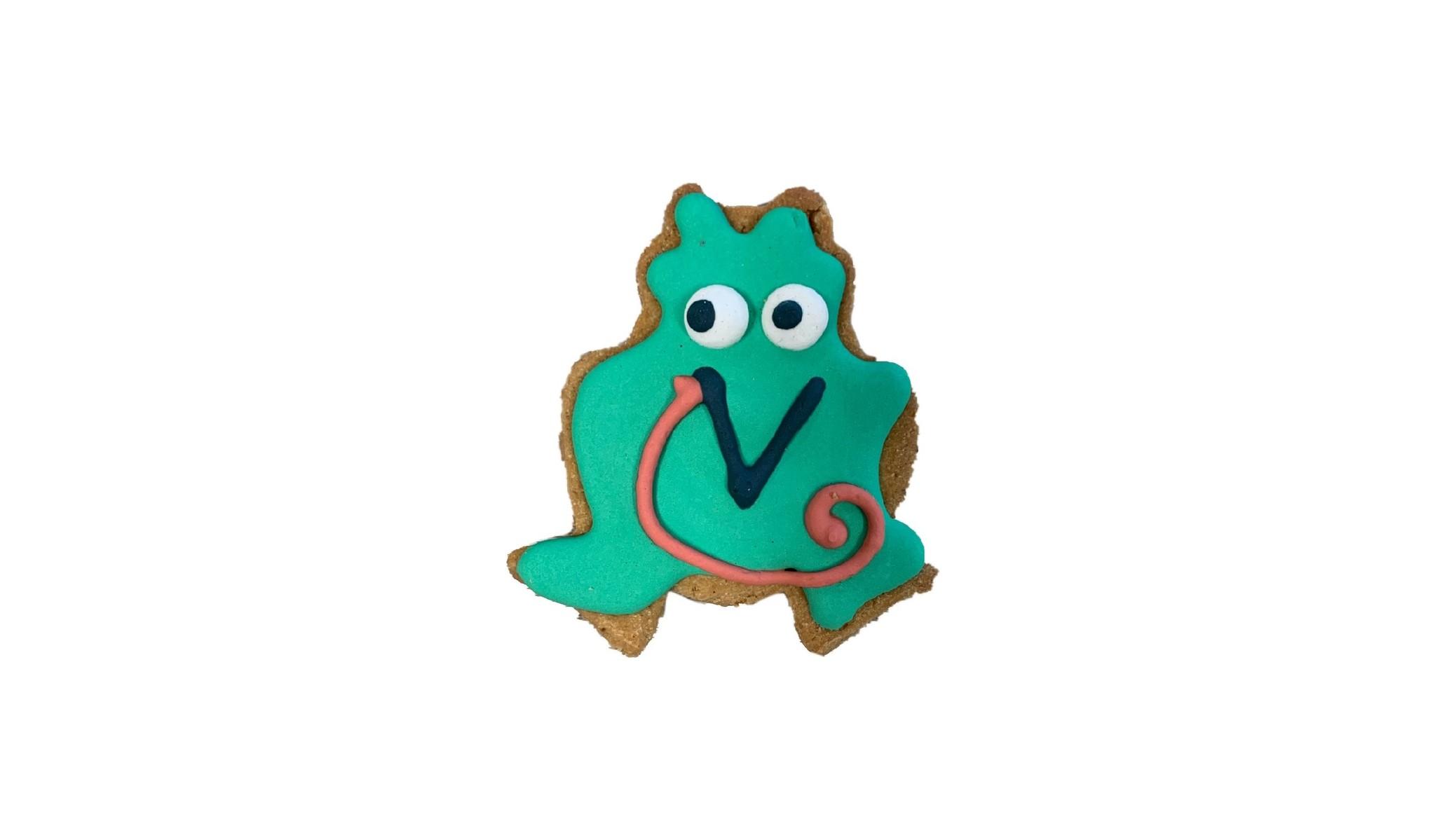 """Bone Bons Frog Bakery Cookie 3"""""""