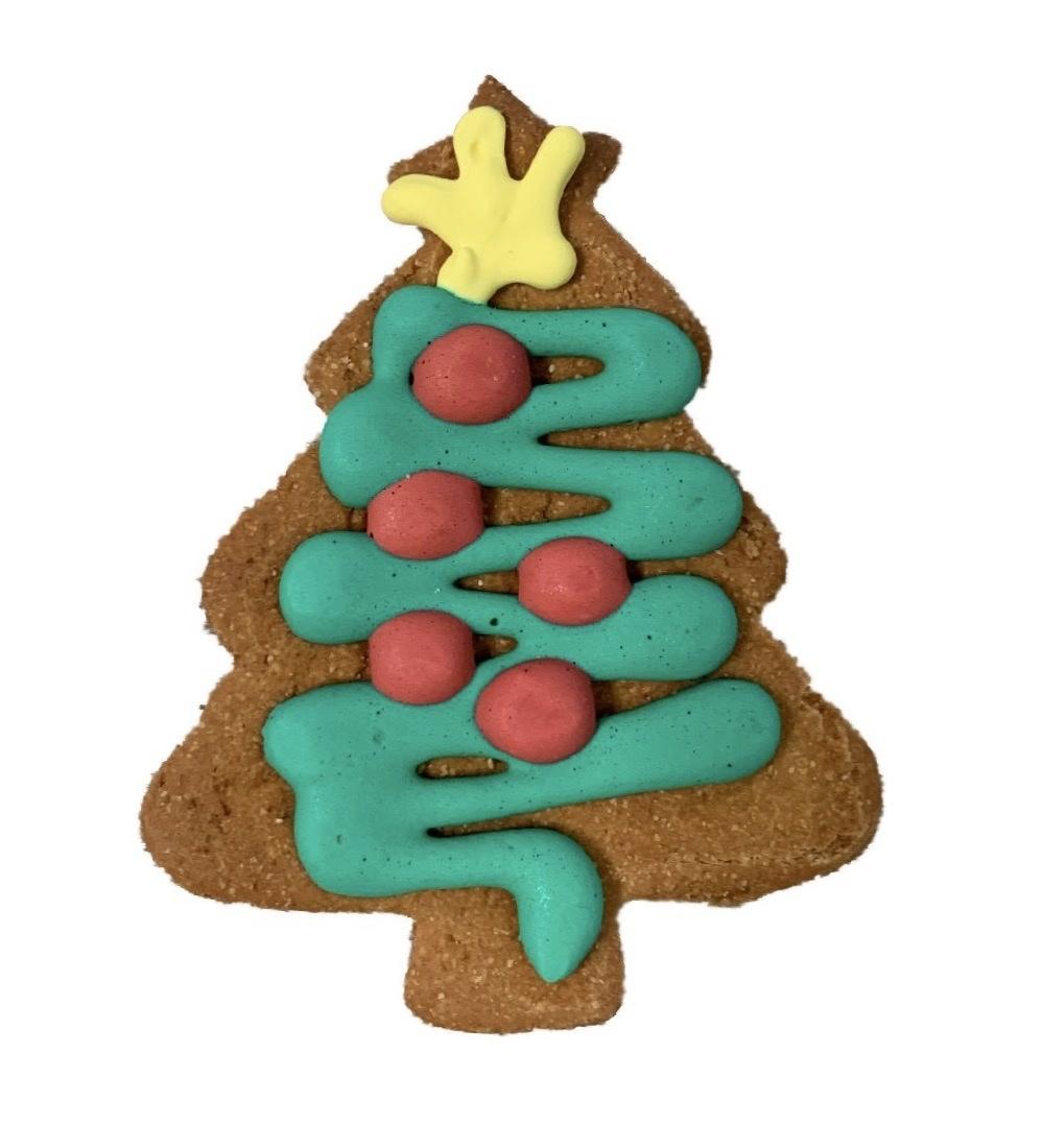 """Bone Bons Christmas Tree Bakery Cookie 3"""""""