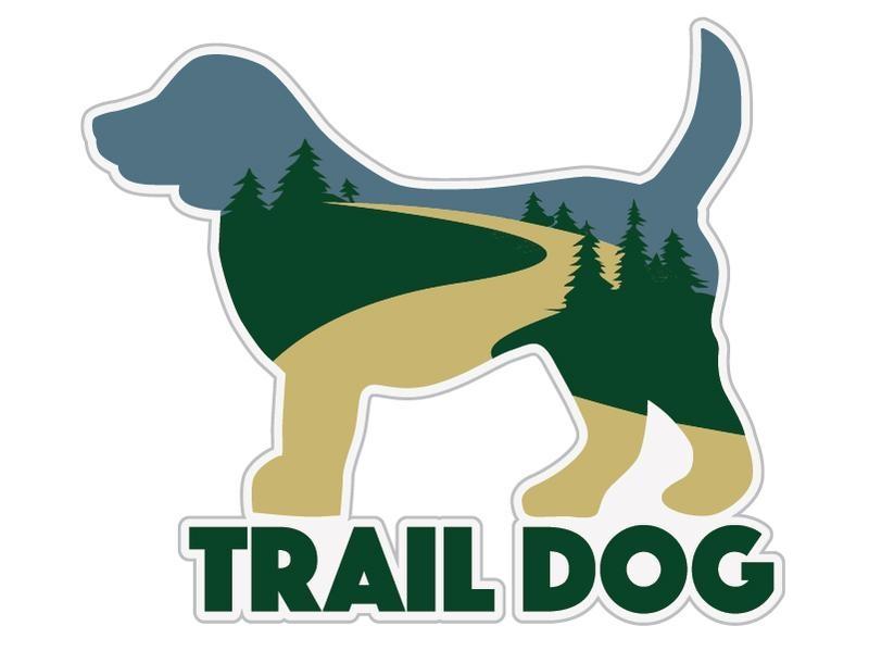 Dog Speak Dog Speak Decal - Trail Dog