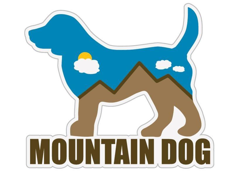 Dog Speak Dog Speak Decal - Mountain Dog