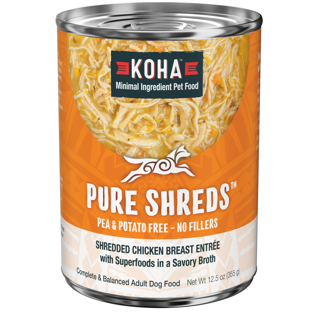 Koha Koha Pure Shreds, Shredded Chicken Breast Entree