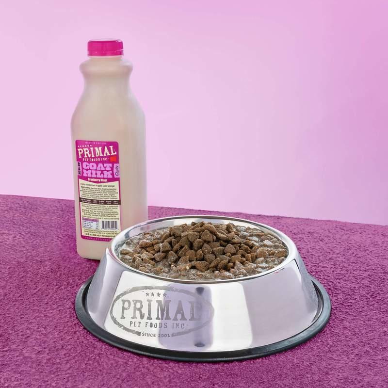 Primal Pet Foods Primal Raw Goat Milk Cranberry Blast 32oz/Quart