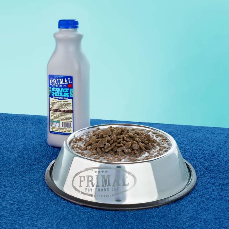 Primal Pet Foods Primal Raw Goat Milk Blueberry & Pomegranate Burst 32oz/Quart