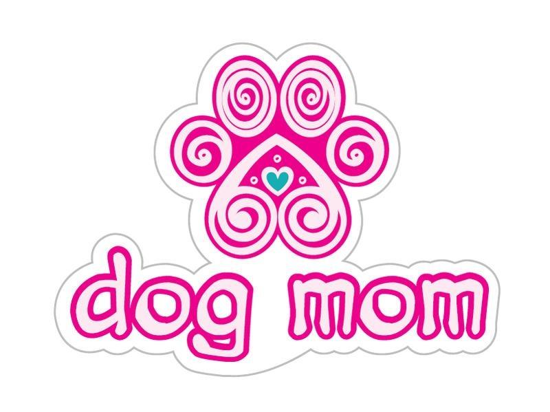 Dog Speak Dog Speak Decal - Dog Mom