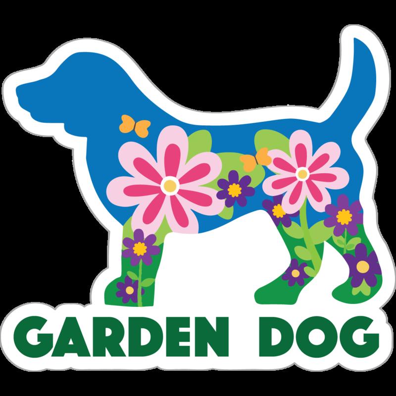 Dog Speak Dog Speak Decal - Garden Dog