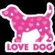 Dog Speak Dog Speak Decal - Love Dog