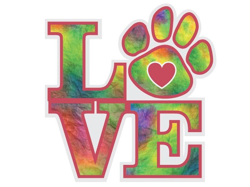 Dog Speak Dog Speak Decal - Love
