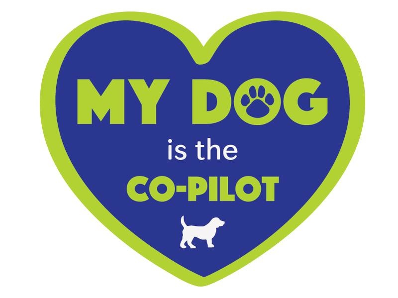 Dog Speak Dog Speak Decal - My Dog Is The Co-Pilot