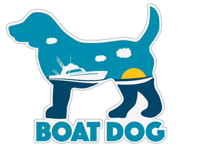 Dog Speak Dog Speak Decal - Boat Dog