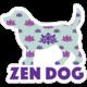 Dog Speak Dog Speak Decal - Zen Dog
