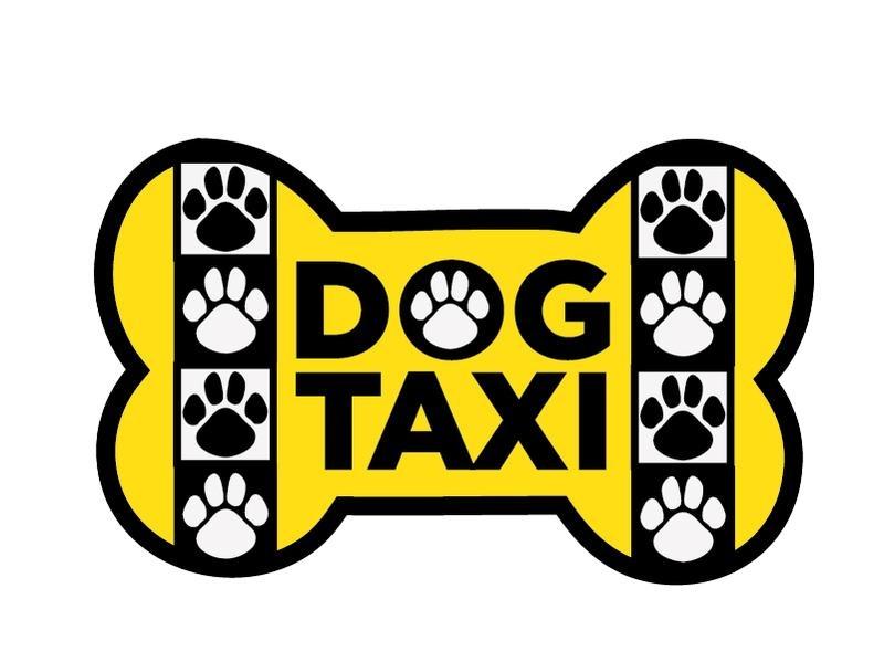 Dog Speak Dog Speak Decal - Dog Taxi