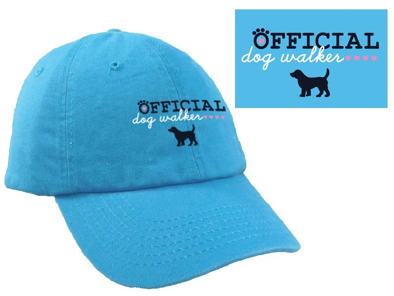 Dog Speak Dog Speak Ball Cap Official Dog Walker