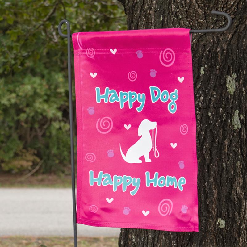 Dog Speak Dog Speak Happy Dog Happy Home Garden Flag