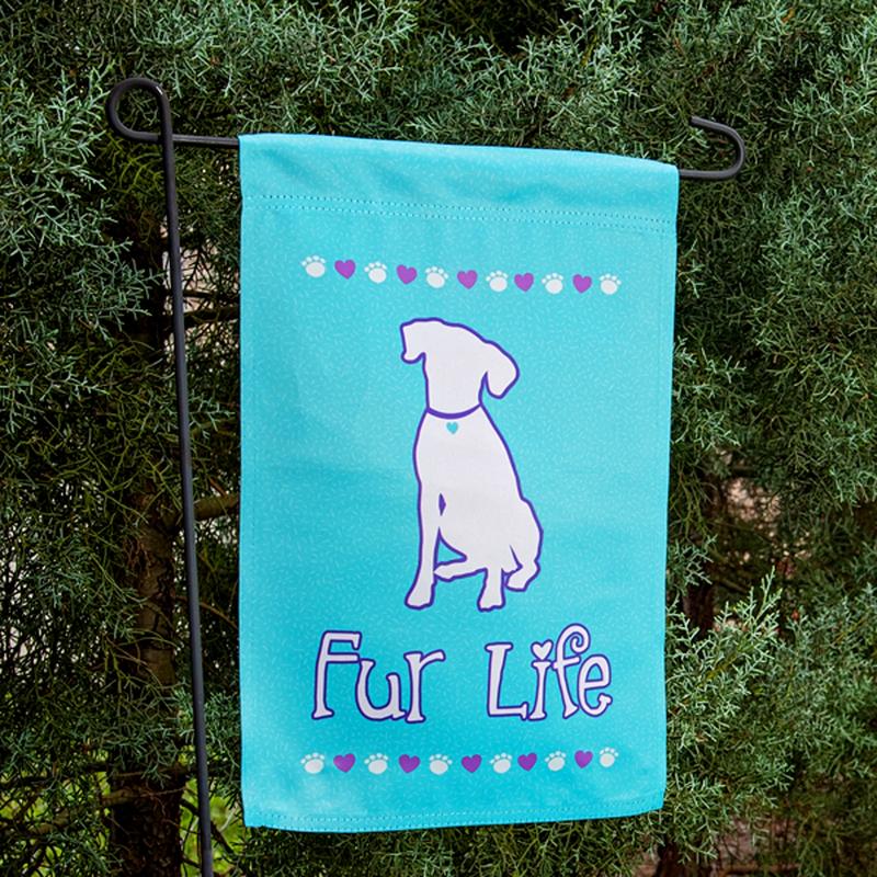 Dog Speak Dog Speak Fur Life Garden Flag