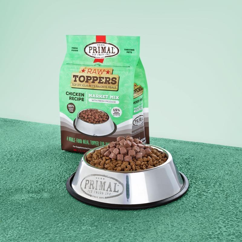 Primal Pet Foods Primal Raw Frozen Chicken Market Mix Topper 5lb