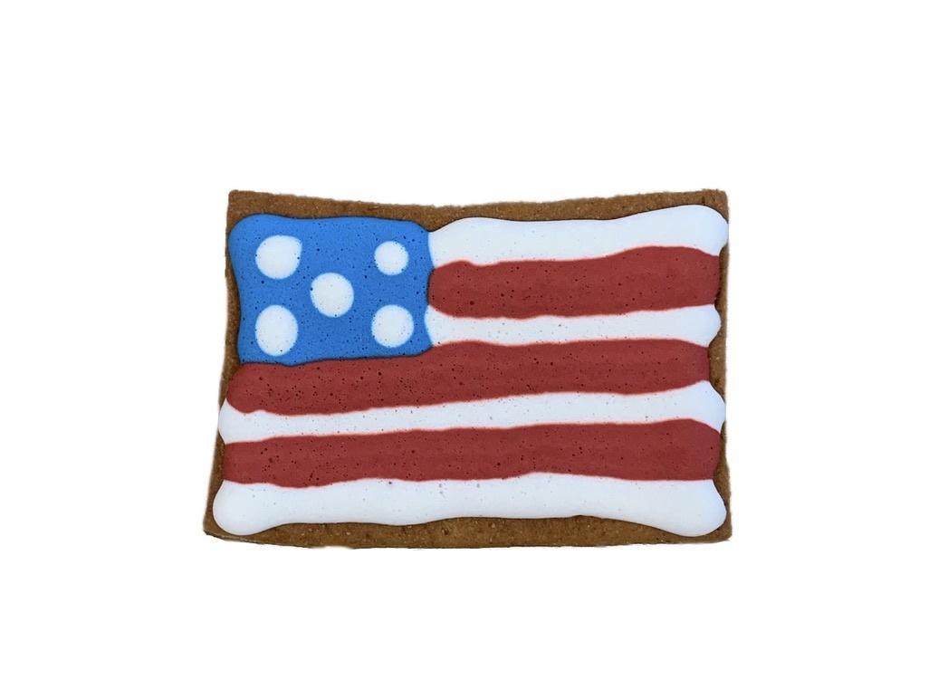 "Bone Bons Flag Bakery Cookie 3"""