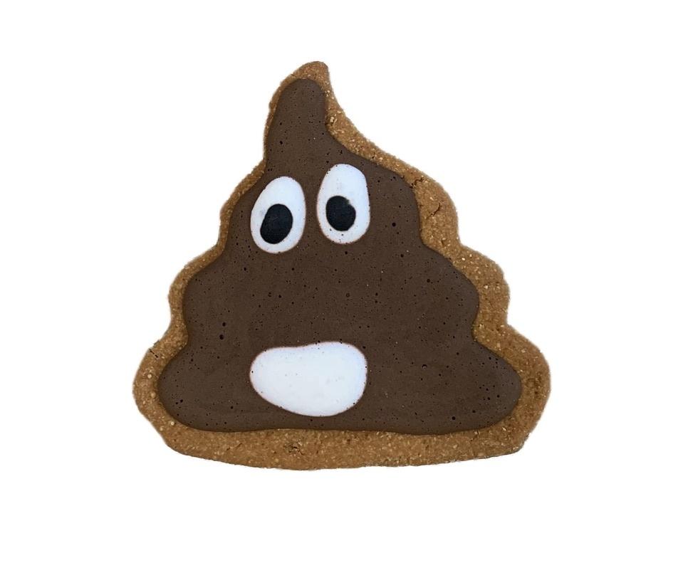 """Bone Bons Poop Emoji Bakery Cookie 3"""""""