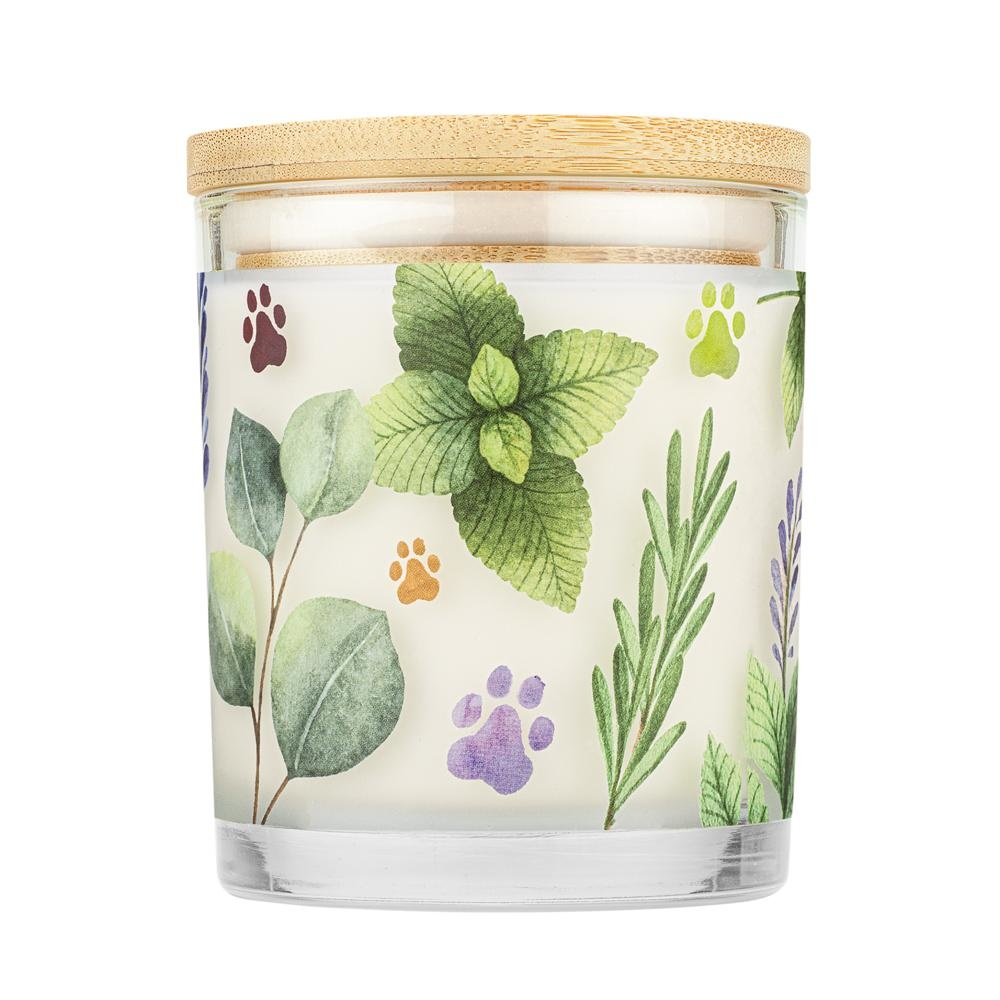One Fur All Pet House Candle Herb Garden 9oz