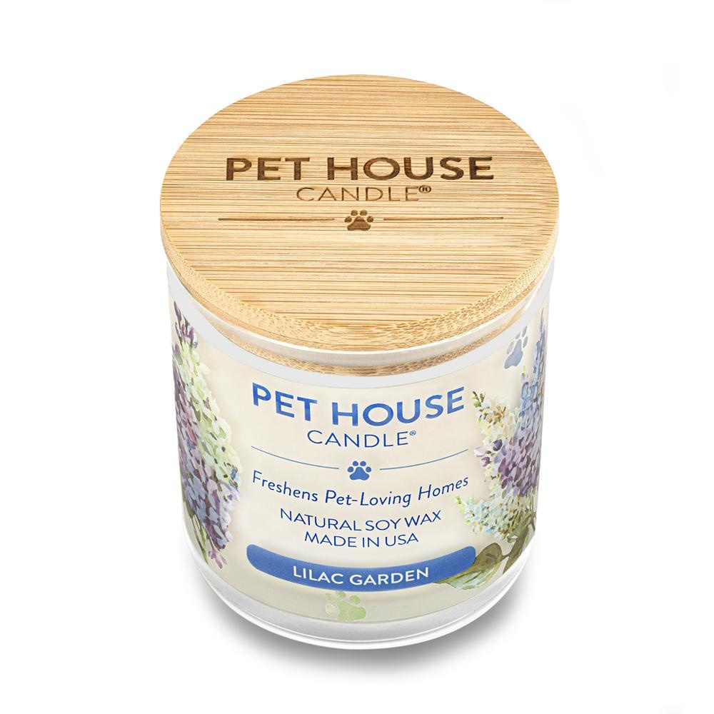 One Fur All Pet House Candle Lilac Garden 9oz