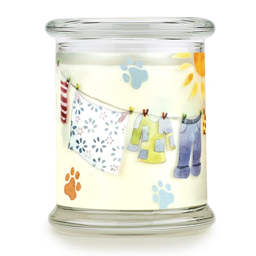 One Fur All Pet House Candle Sunwashed Cotton 8.5oz