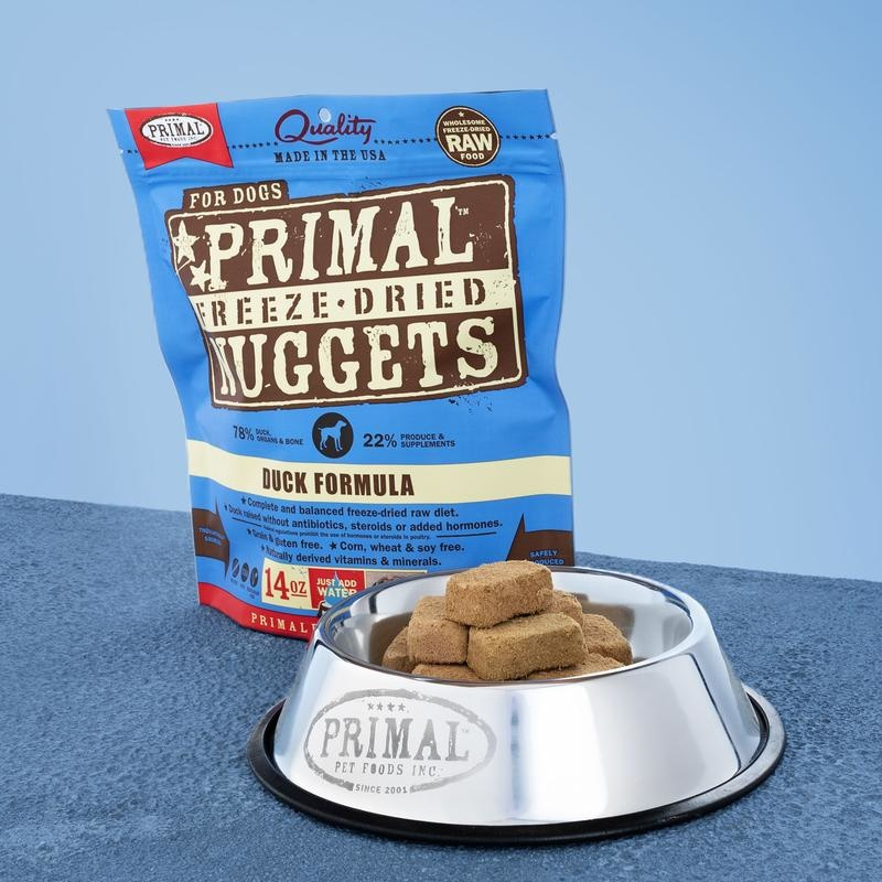 Primal Pet Foods Primal Raw Freeze-Dried Canine Duck Formula