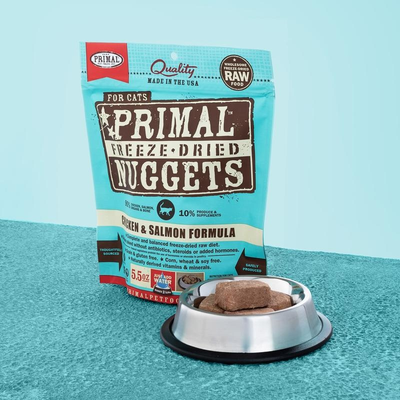Primal Pet Foods Primal Raw Freeze-Dried Feline Chicken & Salmon Formula