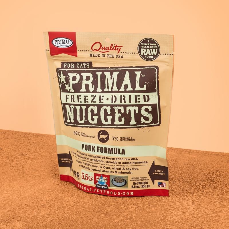 Primal Pet Foods Primal Raw Freeze-Dried Feline Pork Formula