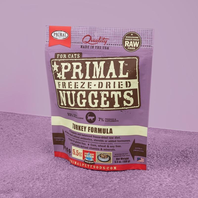 Primal Pet Foods Primal Raw Freeze-Dried Feline Turkey Formula