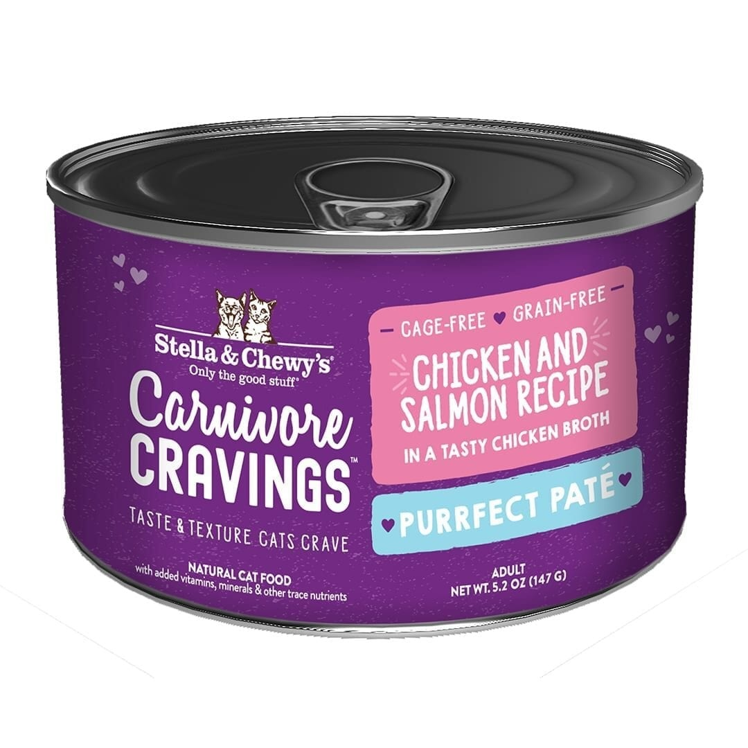 Stella & Chewys Stella & Chewys Carnivore Cravings Savory Shreds Chicken & Salmon Recipe