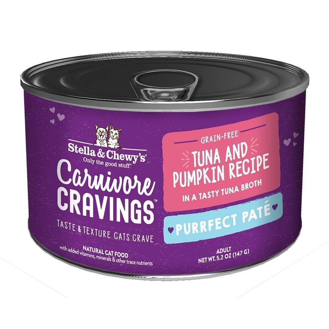 Stella & Chewys Stella & Chewys Carnivore Cravings Purrfect Pate Tuna & Pumpkin Recipe