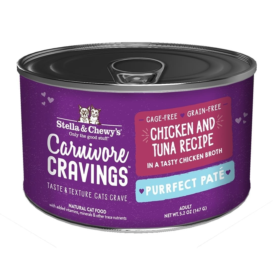 Stella & Chewys Stella & Chewys Carnivore Cravings Purrfect Pate Chicken & Tuna Recipe