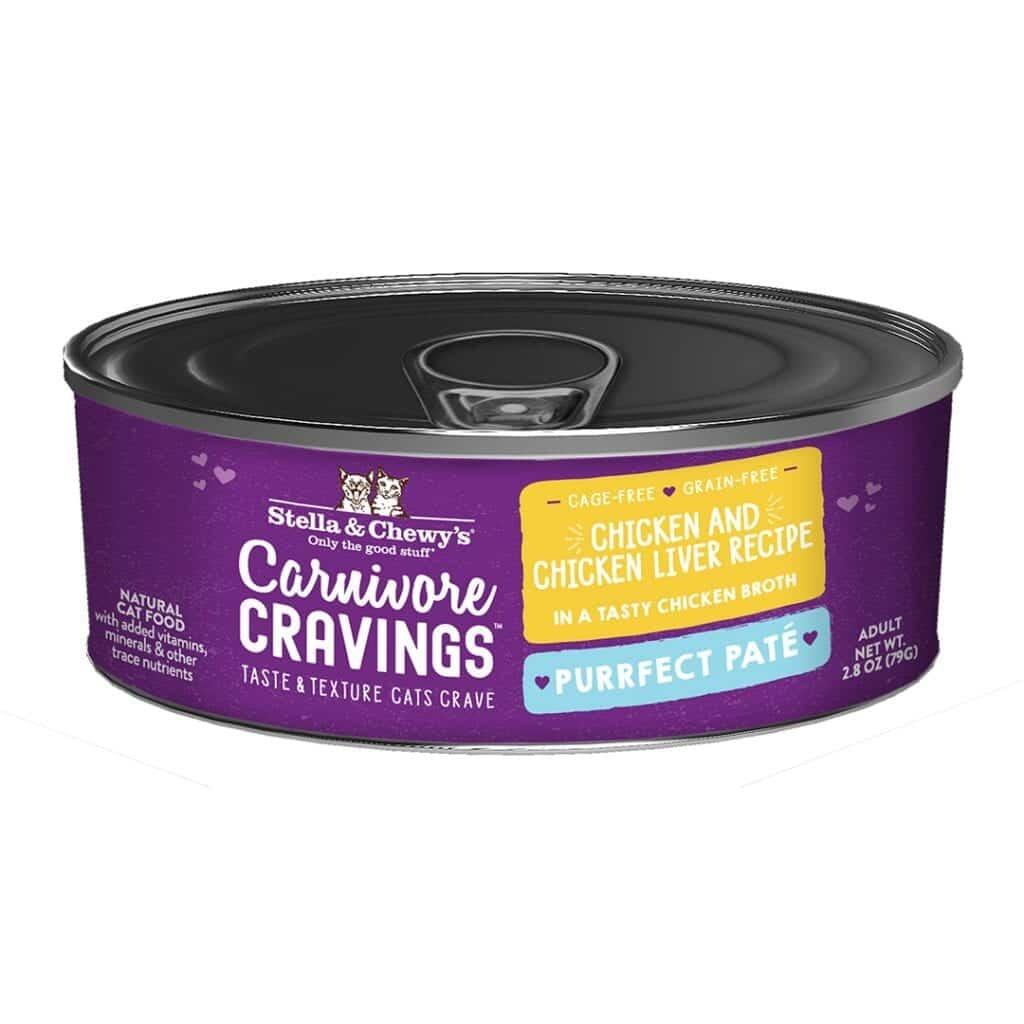 Stella & Chewys Stella & Chewys Carnivore Cravings Purrfect Pate Chicken & Chicken Liver Recipe
