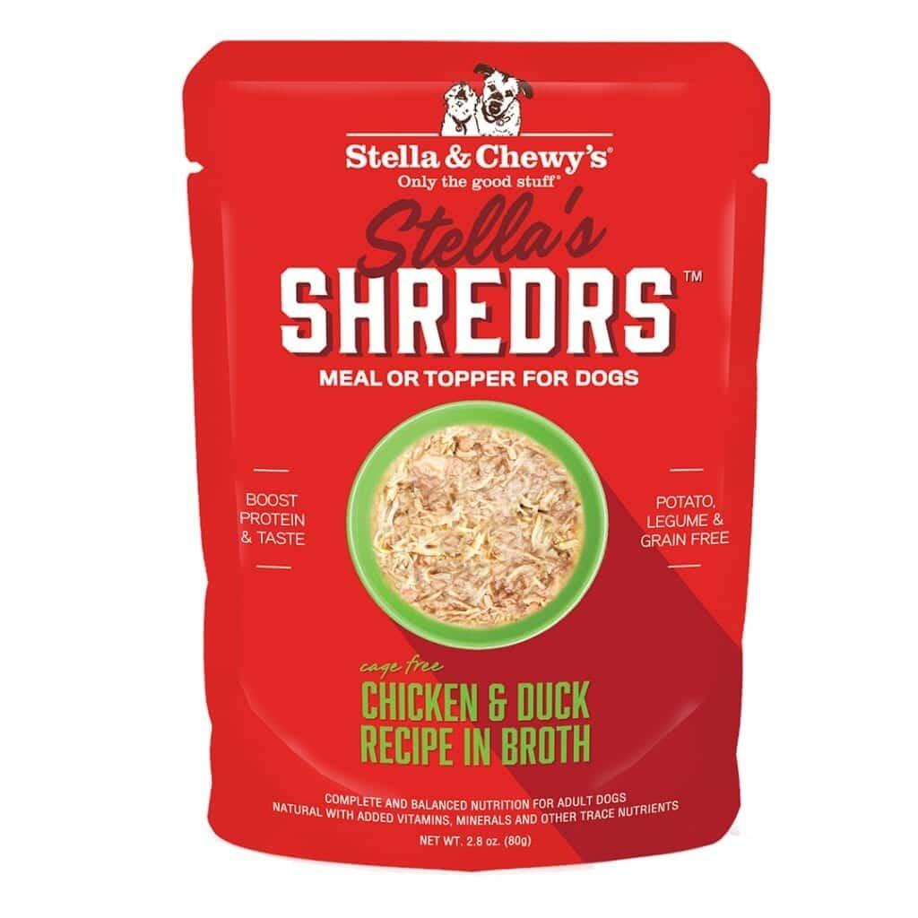 Stella & Chewys Stella & Chewys Stella's Shredrs Chicken & Duck Recipe in Broth