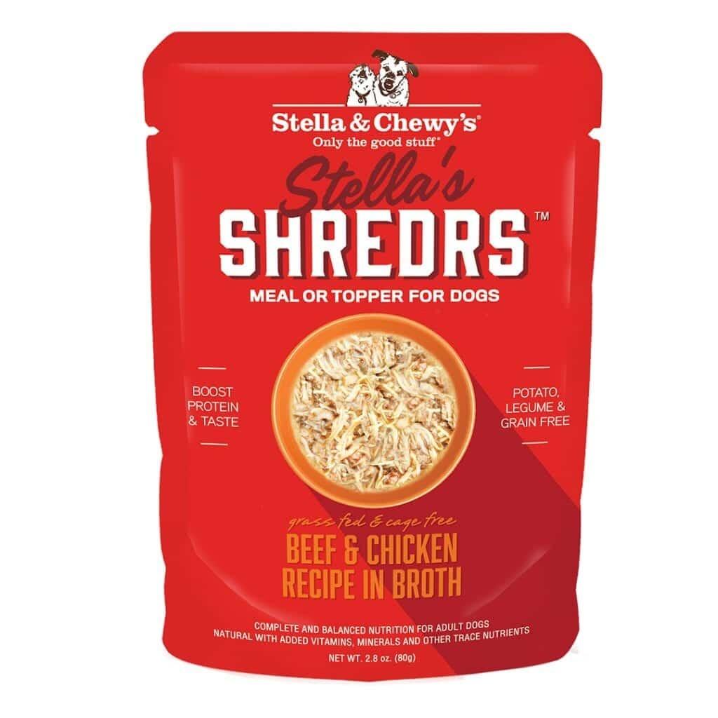 Stella & Chewys Stella & Chewys Stella's Shredrs Beef & Chicken Recipe in Broth