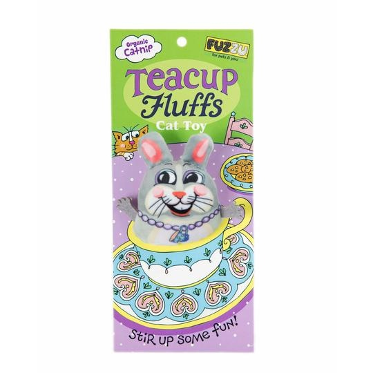 Fuzzu Fuzzu Teacup Fluffs, Bunny Catnip Toy