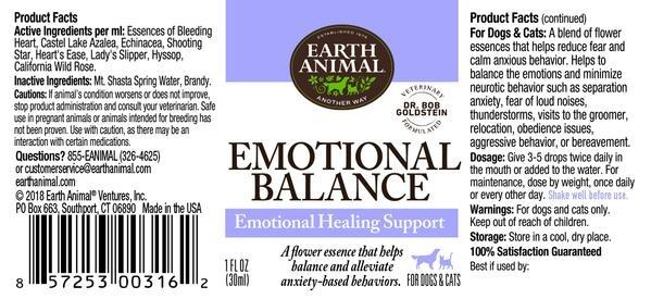 Earth Animal Earth Animal Emotional Balance Flower Essence Remedy 1oz