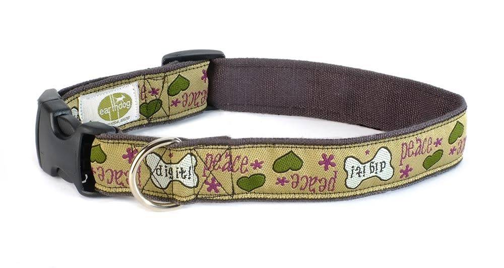 Earth Dog Earth Dog Fat Moe Hemp Adjustable Collar