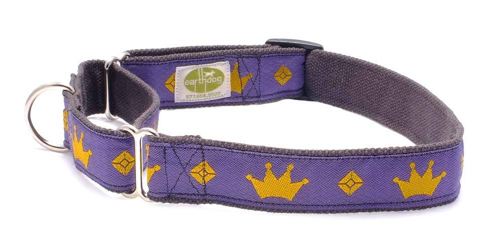 EARTH DOG EARTH DOG JEWEL HEMP MARTINGALE COLLAR