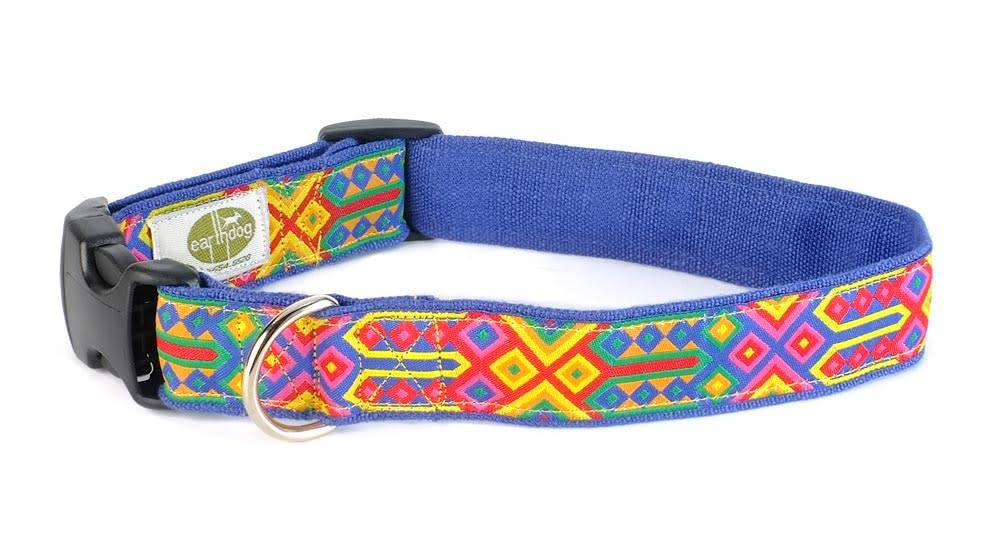 EARTH DOG EARTH DOG SPECK HEMP ADJUSTABLE COLLAR