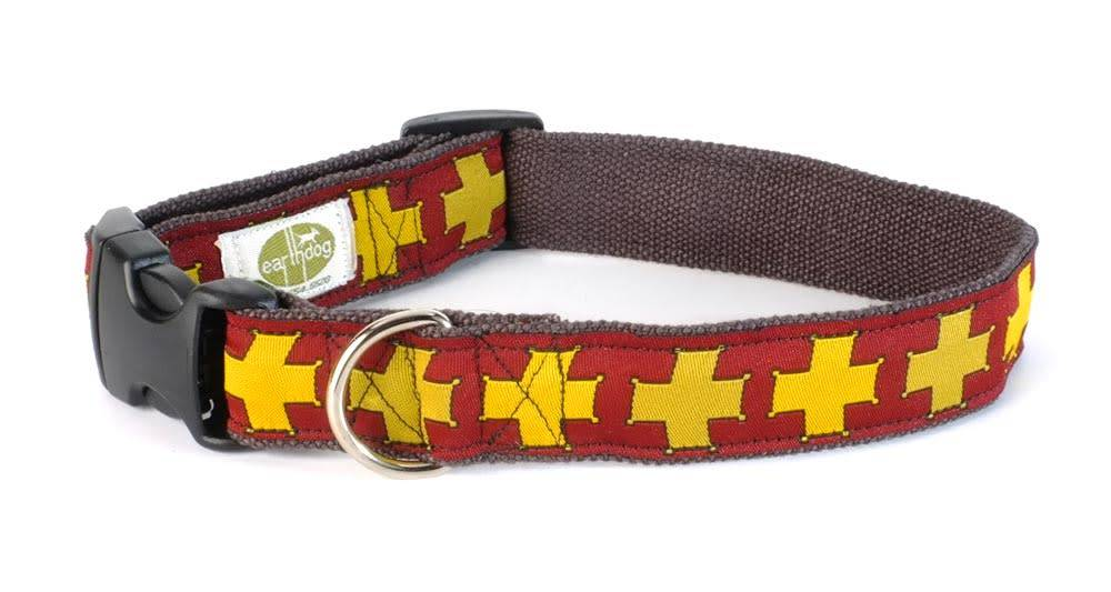 EARTH DOG EARTH DOG WATSON HEMP ADJUSTABLE COLLAR