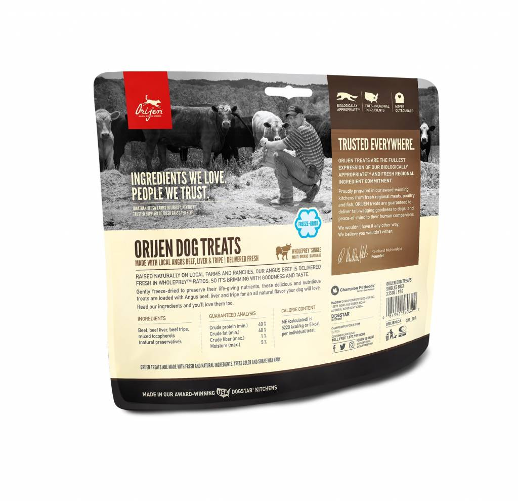 Orijen Orijen Angus Beef Freeze Dried Treats