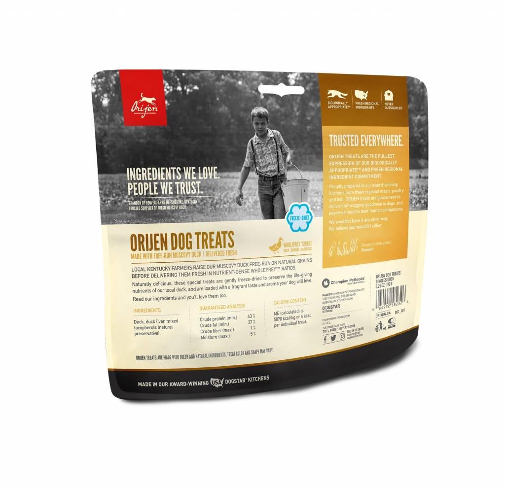 Orijen Orijen Duck Freeze Dried Treats