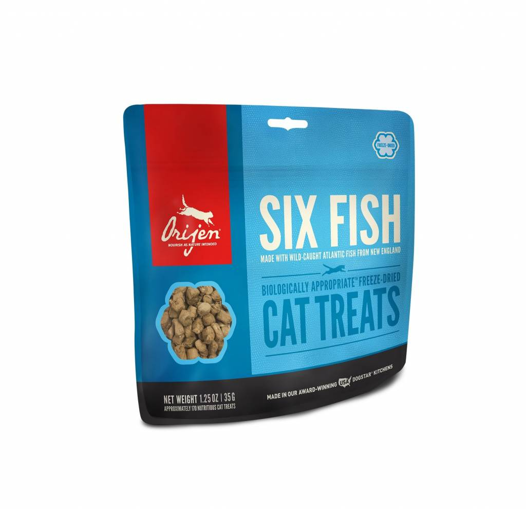 Orijen Orijen Six Fish Cat Freeze Dried 1.25oz