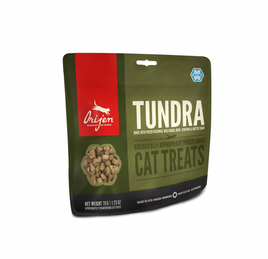 Orijen Orijen Tundra Cat Freeze Dried 1.25oz