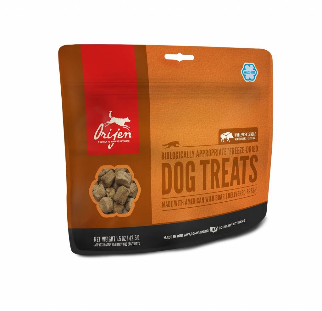 Orijen Orijen Wild Boar Freeze Dried Treats