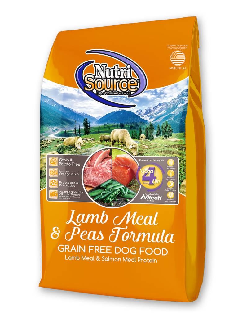 Nutrisource Nutrisource Lamb Meal & Peas Grain Free
